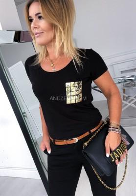T-shirt Misty Black