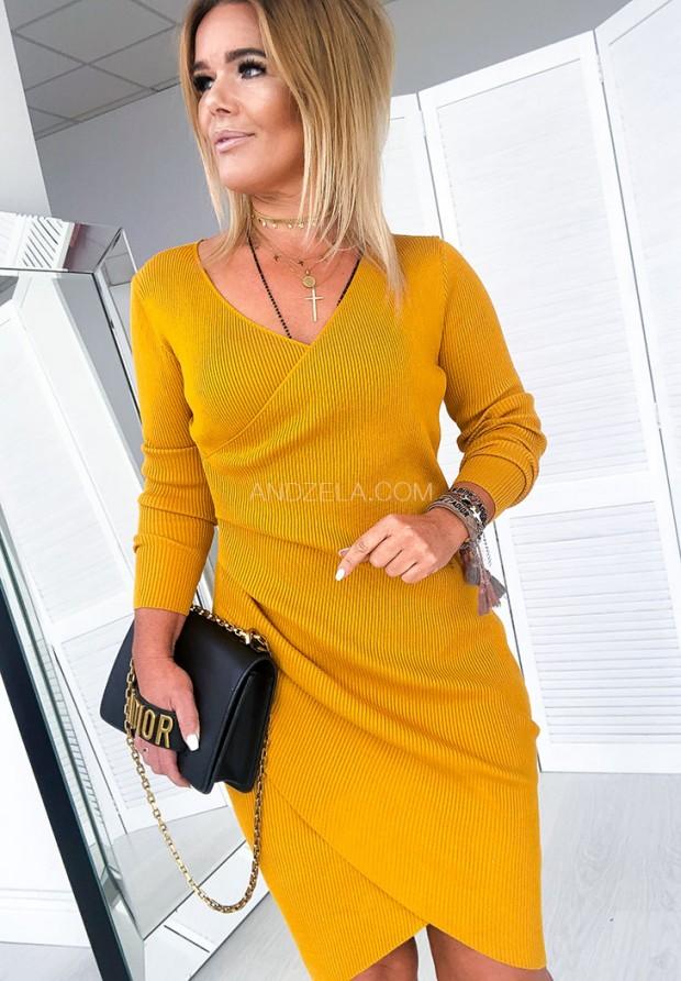 Платье Lara Musztarda