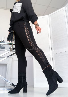 Spodnie Larissa Black