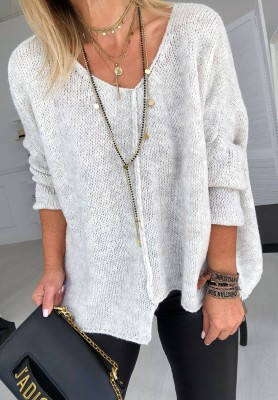 Sweter Art Beige