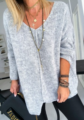 Sweter Art Grey