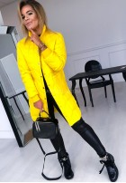 Kurtka Płaszcz Trish Zółta