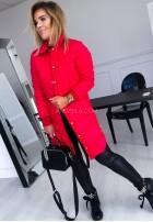 Kurtka Płaszcz Trish Czerwona