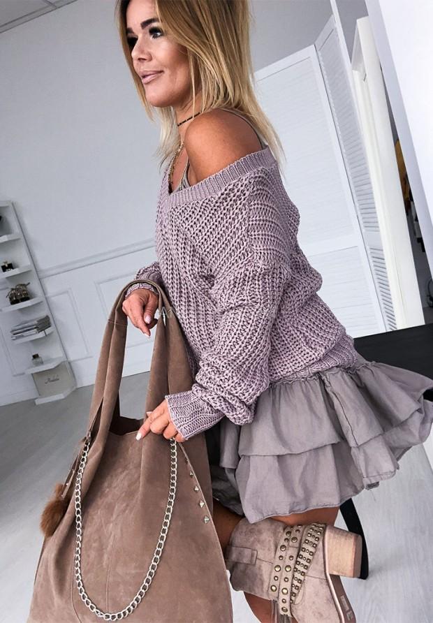 Sweter Aurora Mokka