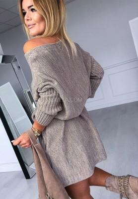 Sweter California Mokka