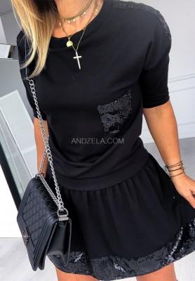 Bluzka Malati Black