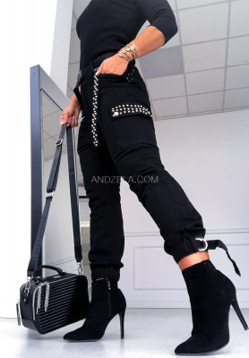 Spodnie Metalic Black