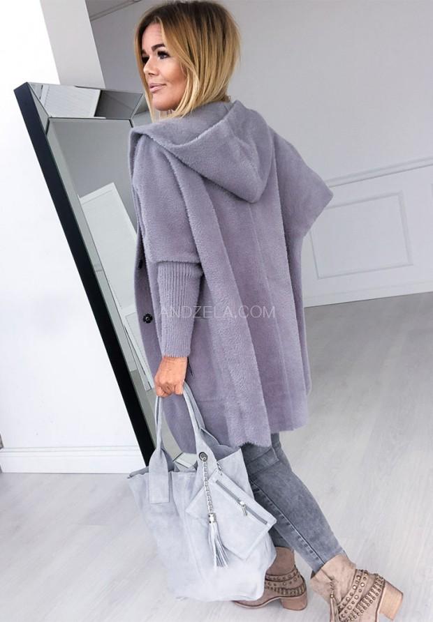 Płaszcz Alpaka West Grey