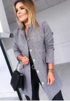 Płaszcz Glamour Szary