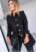 Płaszcz Glamour Czarny