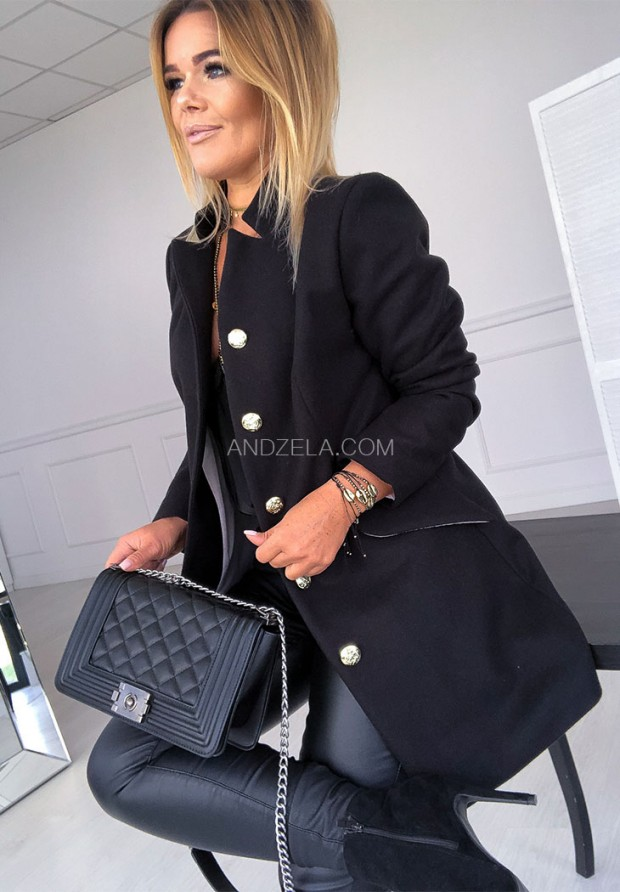 Płaszcz Official Czarny