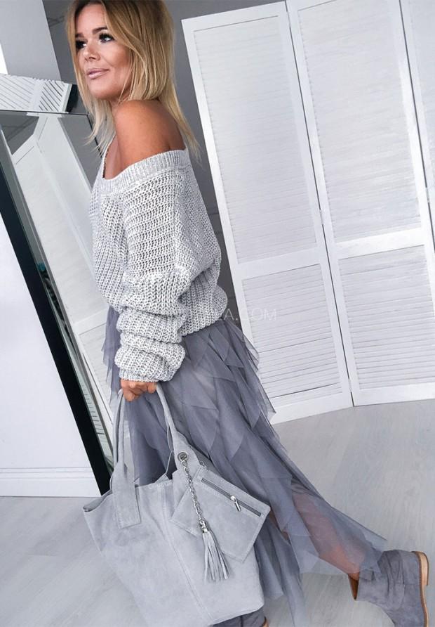 Sweter Corina Szary