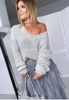 Sweter Tasmania Szary