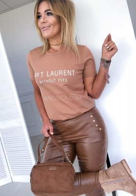 T-shirt Laurent Camel