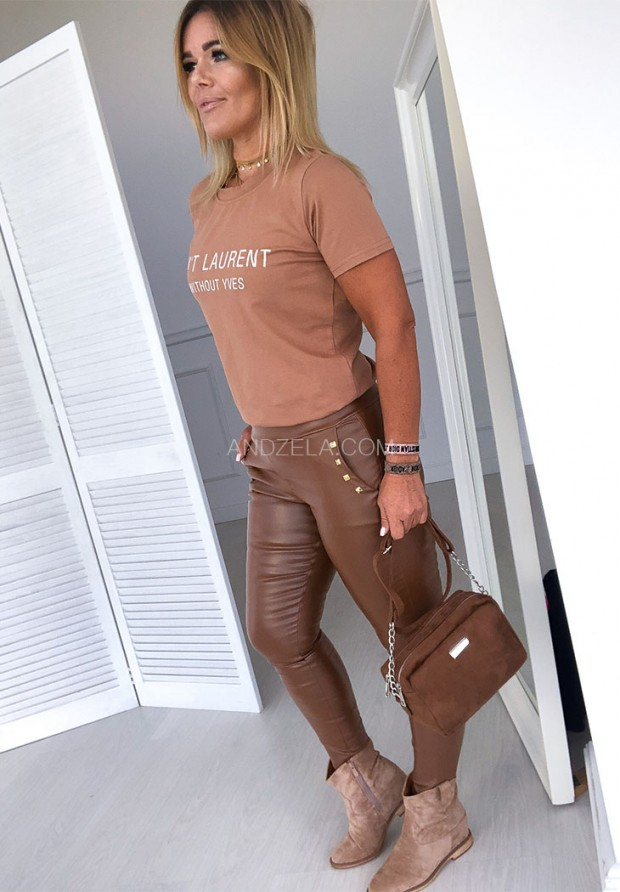 T-shirt Laurent Camel