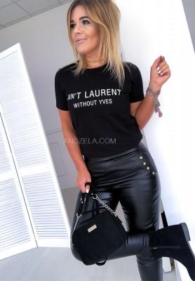 T-shirt Laurent Black