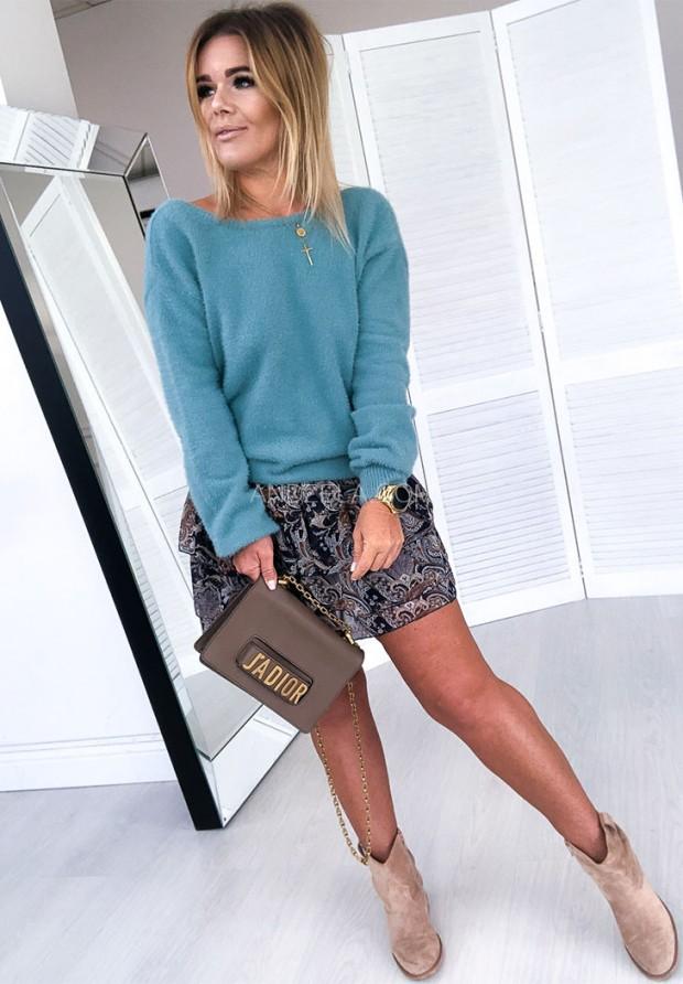 Sweter Sensual Turkus