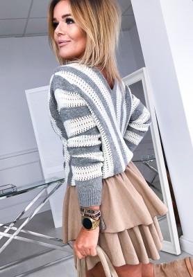 Sweter Marsill Szary