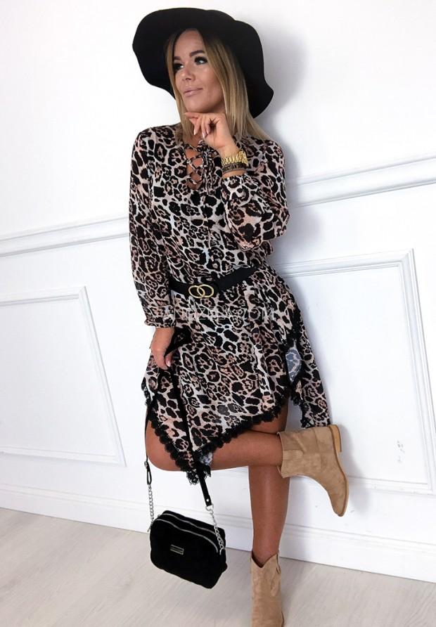 Sukienka Asymetric Panther