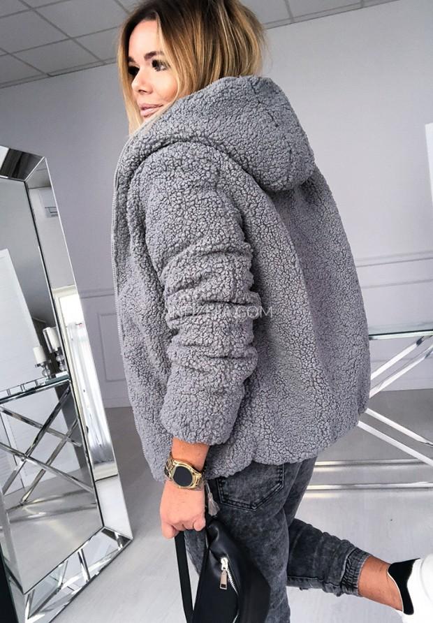 Kurtka Dwustronna Bear Grey