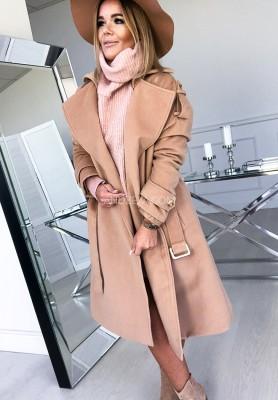 Płaszcz Gracia Camel