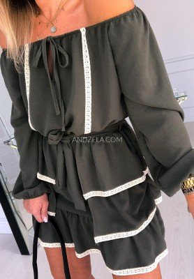 Sukienka Anastazja Khaki