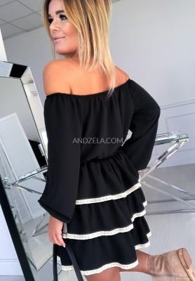 Sukienka Anastazja Czarna