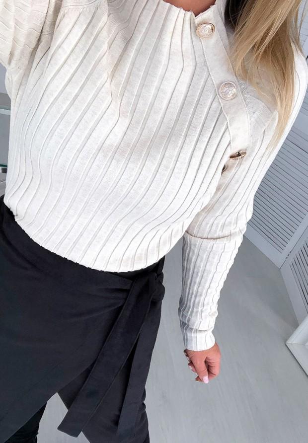 Spódnica Zamszowa Lalu Czarna