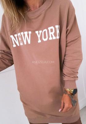 Sukienka Tunika New York Camel