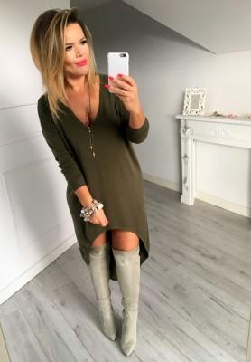 Tunika Sweter Foggia Khaki