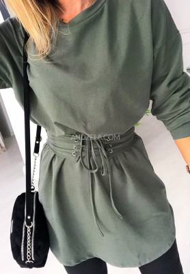 Sukienka Tunika Marii Khaki