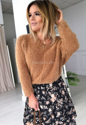 Sweter Foxie Camel
