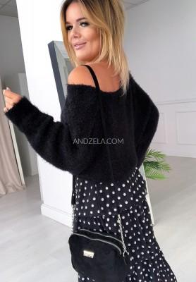 Sweter Foxie Czarny