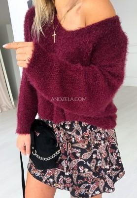 Sweter Foxie Bordo