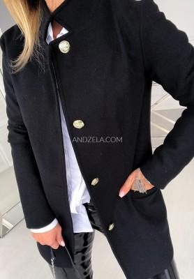 Płaszcz Milano Czarny