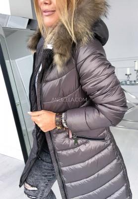 Kurtka Płaszcz Winter Khaki