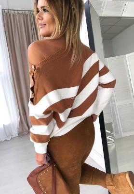 Sweter Paski Shee