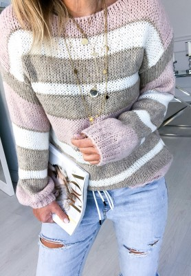 Sweter Yonelle Puder