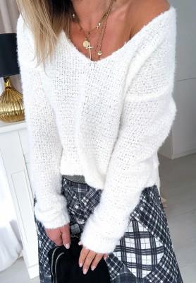 Sweter I Love White