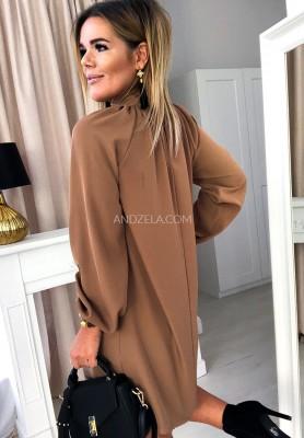 Sukienka Anade Camel
