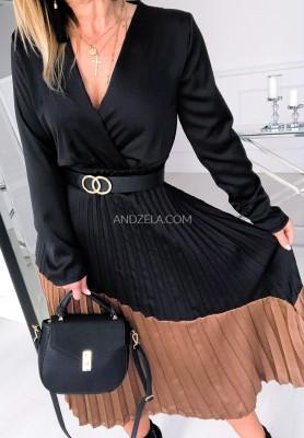 Sukienka La Fontana Black+Camel