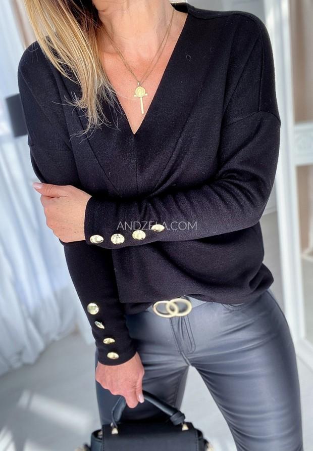 Sweter Lirene Czarny
