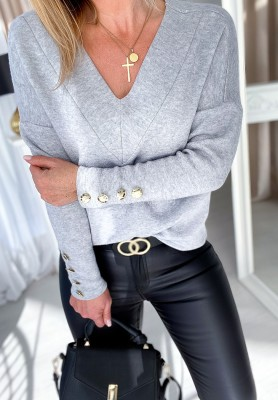 Sweter Lirene Szary