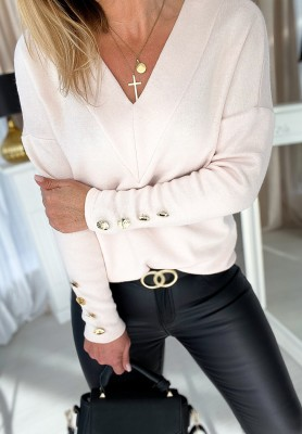 Sweter Lirene Puder