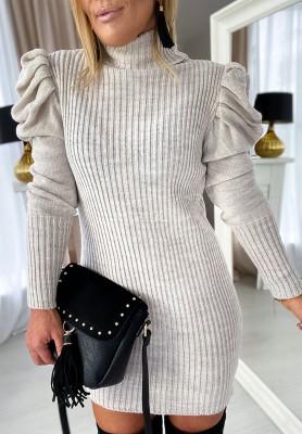 Sukienka Anilah Beż