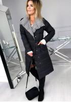 Płaszcz Dwustronny Cover Black+Pepitte