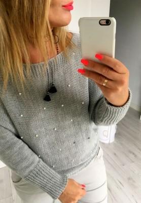 Sweter Perełki