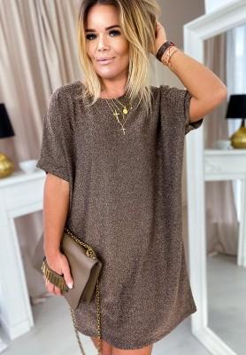 Sukienka Elsey Gold
