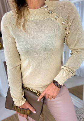 Bluzka Sweter Swan Beż