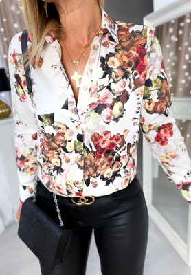 Koszula Flores White